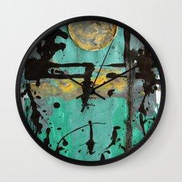 Circles 3 Wall Clock