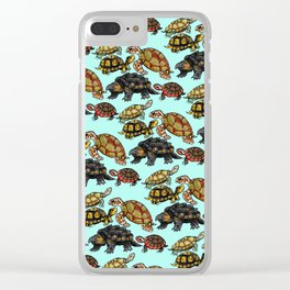 Turtle Skin Clear iPhone Case