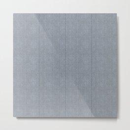 Stitch Weave Geometric Pattern Metal Print