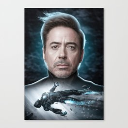 Iron Man Tony Stark Canvas Print