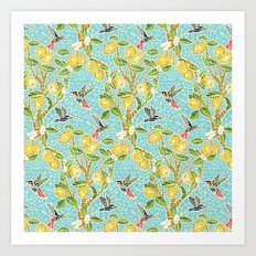 The Lemon Tree Art Print