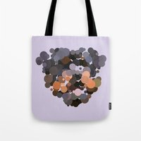 rottweiler Tote Bags featuring Rottweiler by Glen Gould