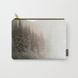 Snowy Woods Carry-All Pouch