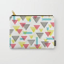 Wild Triangles Carry-All Pouch