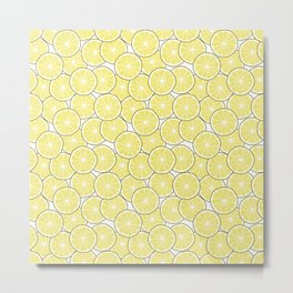 Lemon Metal Print