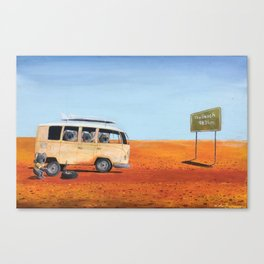 Going to the Beach Canvas Print