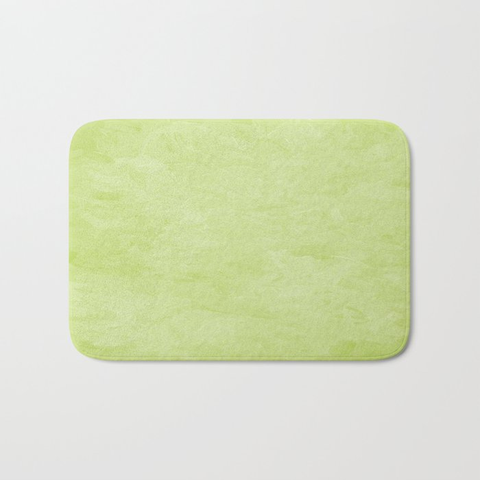 Impressions In Hues Of Mint Green Home Decor Bath Mat By Cherissent