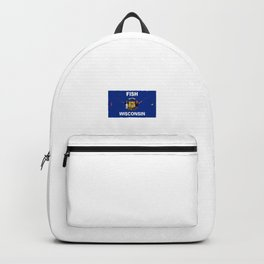 Fish Wisconsin Backpack