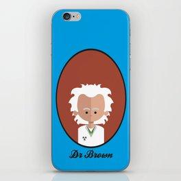 Dr Brown iPhone Skin