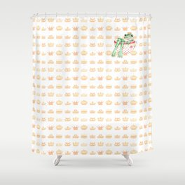 The Crown Prince Shower Curtain