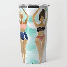 Beach Babe Bikinis Travel Mug