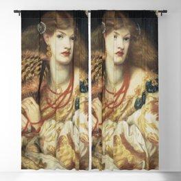 Dante Gabriel Rossetti - Monna Vanna Blackout Curtain