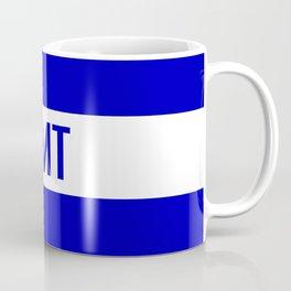 EMT: The Thin White Line Coffee Mug