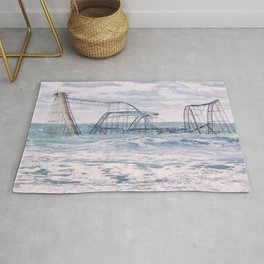 Jet Coaster Full Closeup Rug