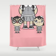 Some Girls Are Bigger Than Others Shower Curtain