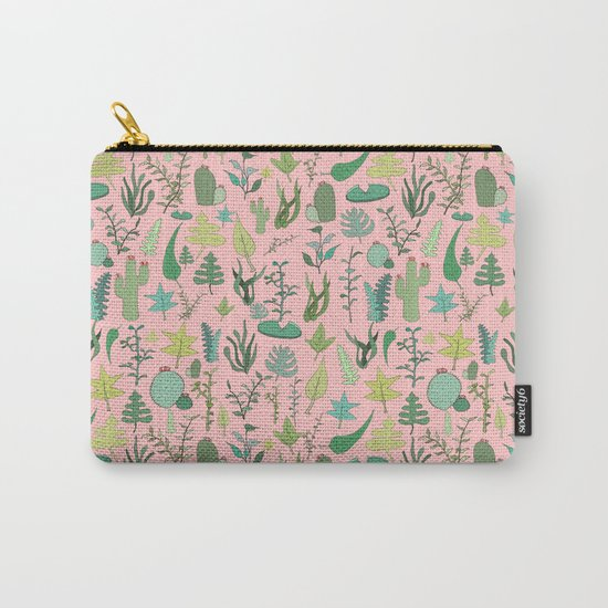Nature Pink Carry-All Pouch