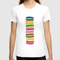 macaroons T-shirts featuring Macaroons by Pea Press