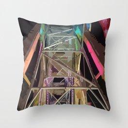 Calgary Stampede Ferris Wheel Graphic  Throw Pillow