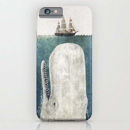 The Whale - vintage  iPhone & iPod Case