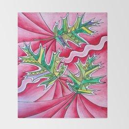 Leaves Throw Blanket