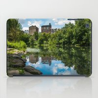 central park iPad Cases featuring Central Park by hannes cmarits (hannes61)