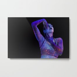 Vivid Sydney 2017 - Neon Portrait_02 Metal Print