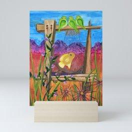 Desert Aquarium Mini Art Print
