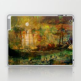 The gondolier of Brooklyn Laptop & iPad Skin
