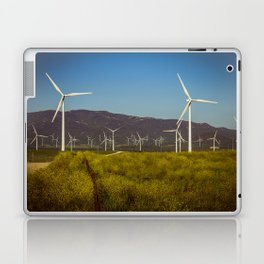 Group of fans in the mountains. Laptop & iPad Skin