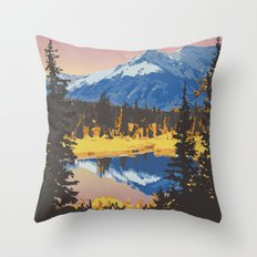 Kluane National Park and Reserve Throw Pillow