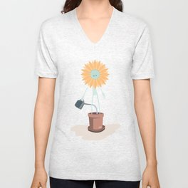 Take care of yourself Unisex V-Neck