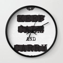 redacted. Wall Clock