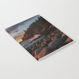 Sunrise at Otter Cliff III Notebook
