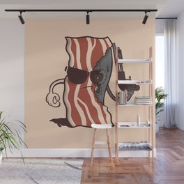 The Baconator Wall Mural