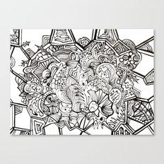 organiconnect Canvas Print