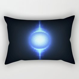 Nuclear fusion and high power energy concept. Rectangular Pillow