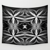 smoke Wall Tapestries featuring Smoke by 2sweet4words Designs