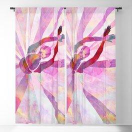 Sleeping Ballerina Floral Blackout Curtain