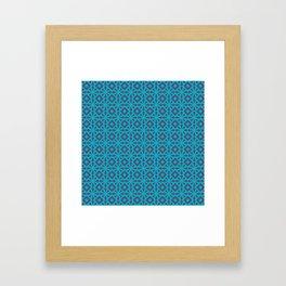 Blueflower Framed Art Print