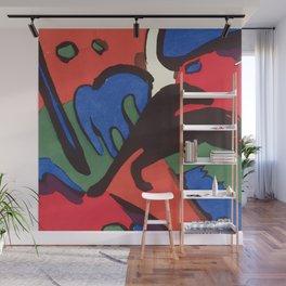 "Franz Marc ""The Blue Rider (Der Blaue Reiter)"" Wall Mural"