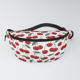 red cherry pattern Fanny Pack