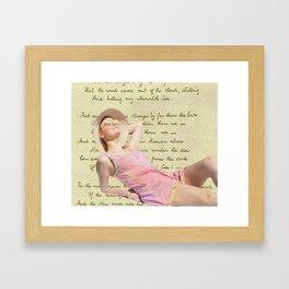 Annabel Lee Framed Art Print