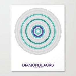 Arizona rings Canvas Print