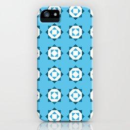 Maroccan Blue Stars iPhone Case