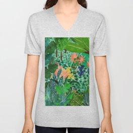 Dense Forest Unisex V-Neck