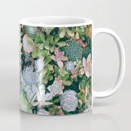 Succulents Green Garden Coffee Mug