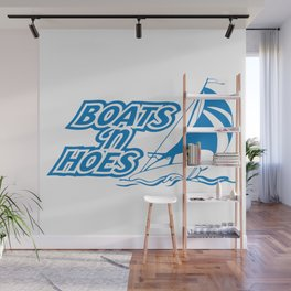 BOATS 'N HOES Wall Mural