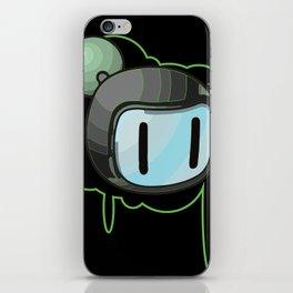 The Green Bomber  iPhone Skin