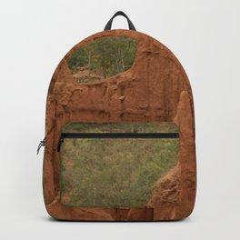 New York Sandstone Cliffs Landscape Konso Ethiopia Africa 4 Backpack