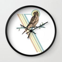 Mauritius Kestrel Falcon Wall Clock